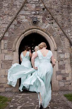 Parisian Inspired Wedding in the English Countryside Wedding Pics, Wedding Bells, Wedding Styles, Wedding Gowns, Dream Wedding, Wedding Ideas, Mint Bridesmaid Dresses, Blue Bridesmaids, Bridesmaid Flowers