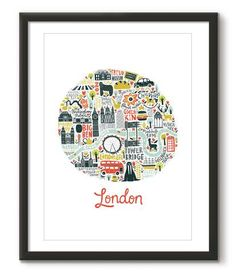 Illustrated London Circle - Great Little Place Store - 1