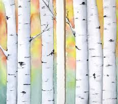 how to paint birch trees in watercolor - Google Search