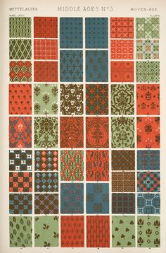 The Grammar Of Ornament Egyptian Design Framed Exquisite Craftsmanship; Beautiful Antique Plate