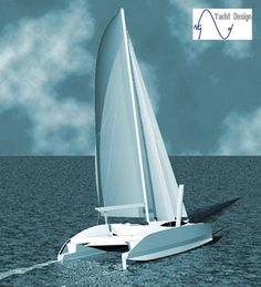 www.ngyachtdesign.com multicoques_voile.php?id=10 Yacht Design, Sailing, Boat, Concept, Veil, Motor Engine, Candle, Dinghy, Boats
