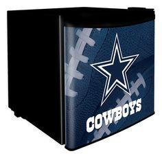 Dallas Cowboys Dorm Room Refrigerator at SportsFansPlus.com