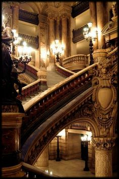 These stairs are in the Paris Opera House in France. on The Owner-Builder Network  http://theownerbuildernetwork.co/social-gallery/these-stairs-are-in-the-paris-opera-house-in-france