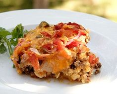 Diabetic Recipes - Chicken Enchilada Casserole