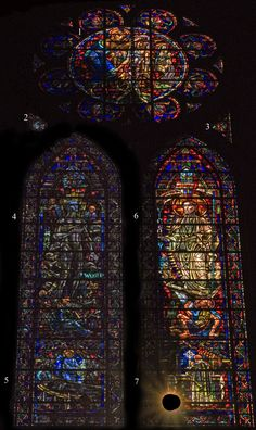 Cathedral of St. John the Divine - New York City, New York  		  		All Souls Clerestory Window