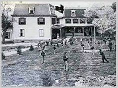 The Soldiers' Orphanage near the Gettysburg Battlefield. But such a house of horror for the children. It was setup for the children who became orphans after the battle........but nothing good ever happened there.