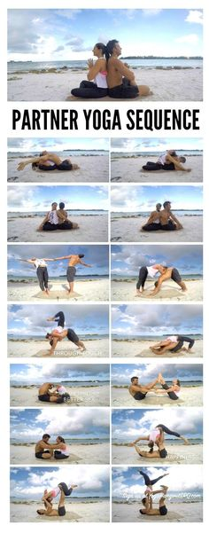 Awesome!! Couple's Partner Yoga Sequence with Margie and Bryant in Sarasota Florida...