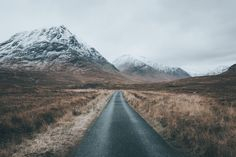 Lonely road by Michiel Pieters on 500px