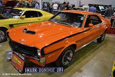 Muscle Car Spotlight: 1970 AMC Javelin - Big Bad Orange - Mark Donahue Edition #AMC #MuscleCars