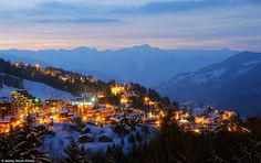 07.03.2016 Stunning: A local tourist officer worker said they 'believed' William and Kate were staying in Courchevel (file picture)