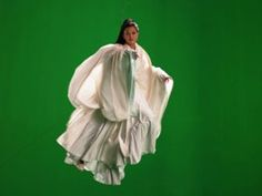 Actress Maggie Cheung played Mazu in a multi-media installation by Isaac Julien called Ten Thousand Waves.