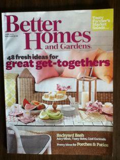 Better Homes and Gardens June 2013 magazine