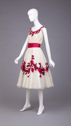 Dress, Karen Stark, 1950-1959, Goldstein Museum of Design.