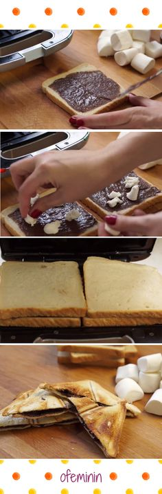 Marshmallow + Nutella = HEAVEN <3 #nutella #tosty #przepisy #marshmallow #ideas #sweet