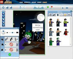 The Book Chook: LEGO DC Universe Superheroes Comic Builder