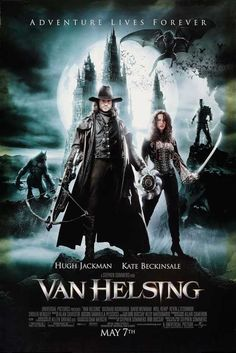 Van Helsing.  one of those movies i know is bad, yet i watch it whenever its on tv.