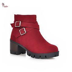 Chaussures BalaMasa rouge bordeaux znQXP15J
