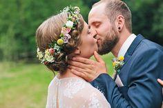Entspannte Hochzeit in Bayern - Wedding Flowers, Wedding Dresses, Wedding Hairstyles, Dream Wedding, Couple Photos, Vintage, Kisses, People, Wedding Stuff