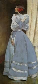 Carole's Chatter: Lady in Grey by John White Alexander Bobby Vinton, Blue Velvet, Cartoon, Silk, Lady, Artist, How To Wear, Quotations, Dresses