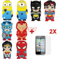 Child Gift 3D Cute Disney Cartoon Soft Cover Case For ipod touch 5 5th gen  a2