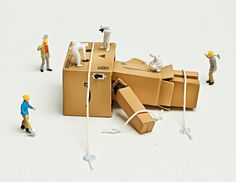 090 HTITFT: Danbo the Giant (cont.) by jhoover24, via Flickr