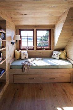 Ninhos de descanso: 18 camas em nichos