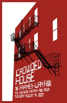 Crowded House Gig Poster 2007
