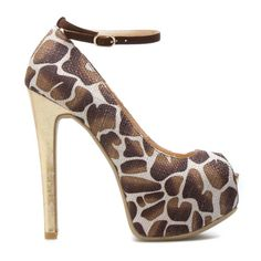 1bafa68d43 12 Best Giraffes images | Giraffes, Heels, Me too shoes