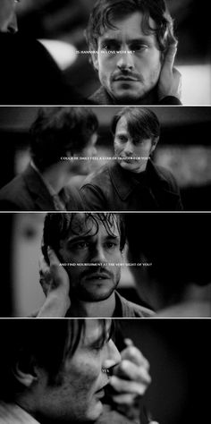 Hannibal Lecter + Will Graham: But do you ache for him?