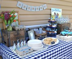 little blue truck birthday party theme | Little Blue Truck party-- Love this book!