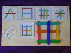 Preschool Activities At Home, Toddler Learning Activities, Preschool Curriculum, Montessori Activities, Teaching Kids, Kids Learning, Ideias Diy, Toddler Fun, Kids Education