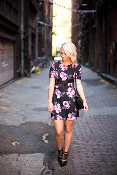 382d2e04c3f haute looks   fashion blog   floral dress   fall fashion   2014   ootd    little dress   seattle   blogger   style