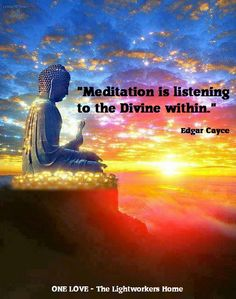 Meditation is the direct connection to your higher self.  www.nadiashapiro.com