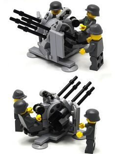 Lego Soldiers, Lego Ww2, Lego Robot, Lego Mecha, Legos, Lego Custom Minifigures, Lego Guns, Lego Boxes, Lego Truck