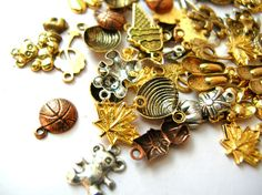 Tiny Charm Lot - Doll Necklace Pendants - Doll Jewelry Charms by BohemianGypsyCaravan