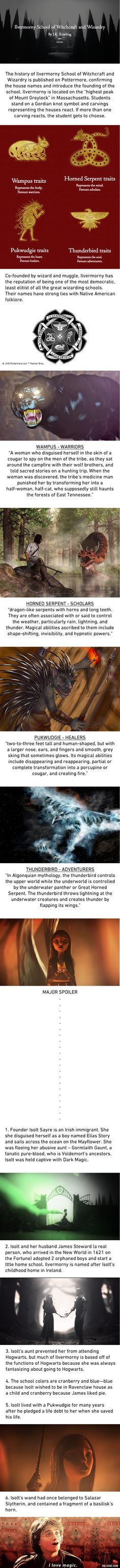 JK Rowling Reveals 6 Magical Facts Of America's Wizarding School - 9GAG