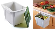 Countertop Collection Bin - Gardening Lee Valley $13.50 this is the one Mom has