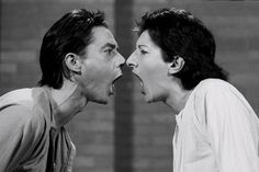 Marina Abramović, AAA-AAA, Black and white single-screen video. Courtesy the artist and Lisson Gallery. Performance Arte, Lisson Gallery, Excuse Moi, Marina Abramovic, Pose, New Shows, Art World, Contemporary Artists, Les Oeuvres