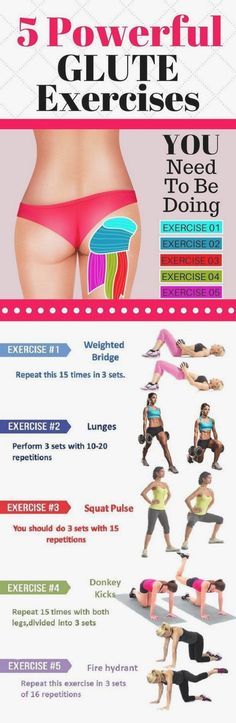 5 Exercises That Will Build Up Your Glutes, Improve Your Posture And Burn Fat! b… 5 Exercises That Will Build Up Your Glutes, Improve Your Posture And Burn Fat! by bleu. Fitness Workouts, Fitness Herausforderungen, At Home Workouts, Health Fitness, Butt Workouts, Hip Workout, Do Exercise, Excercise, Reduce Arm Fat Exercise