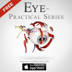 Review the anatomy of the eye in a fully 3D environment with our Eye - Practical Series iPad app which is now available on the App Store for FREE - https://itunes.apple.com/us/app/eye-practical-series/id724780166?mt=8