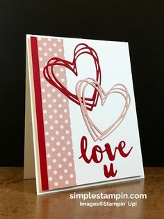 A Valentine with no stamps...FUN!!! - Simple Stampin
