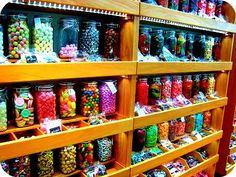 Sweets! #sweets #sugar #colors #colours #lolly #lollies #shop #jars