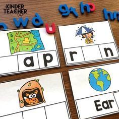 If students struggle with decoding words, then they tend to struggle with reading words in text too. Here are some phonological awareness activities to support struggling readers. Phonological Awareness Activities, Phonics Activities, Hands On Activities, Shape Activities, Kindergarten Activities, Activity Centers, Math Centers, Math Stations, Numbers Kindergarten