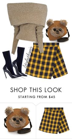 """Untitled #6661"" by stylistbyair ❤ liked on Polyvore featuring Loungefly, Maison Margiela and Balenciaga"