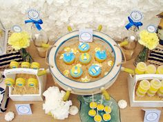 nautical baby shower party