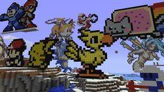 Harmony #Chocobo #Nyan #Megaman #Pokemon #Pikachu #Minecraft