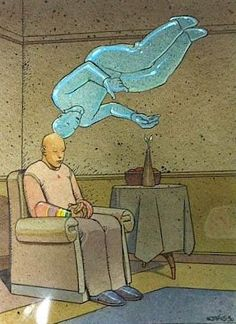 Moebius rare illustration via Pedro Morais Jean Giraud, Comic Book Artists, Comic Artist, Comic Books Art, Science Fiction, Frank Margerin, Illustrations, Illustration Art, Moebius Art