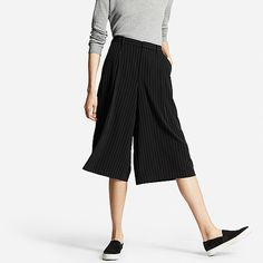 UNIQLO WOMEN DRAPE GAUCHO PANTS