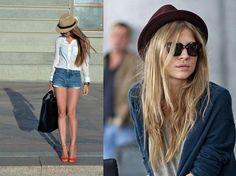 Модные шляпы федора