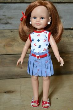 Interesting outfit for Paola Reina doll
